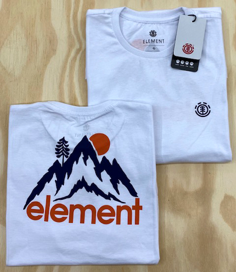 Camiseta Element Goletta Branco