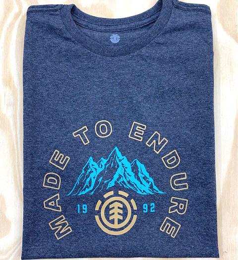 Camiseta Element Ivyhil Cinza