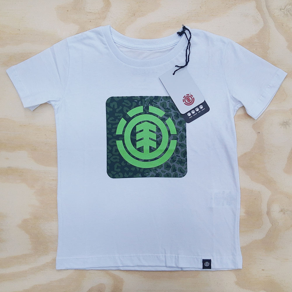 Camiseta Element Leopard Block INFANTIL