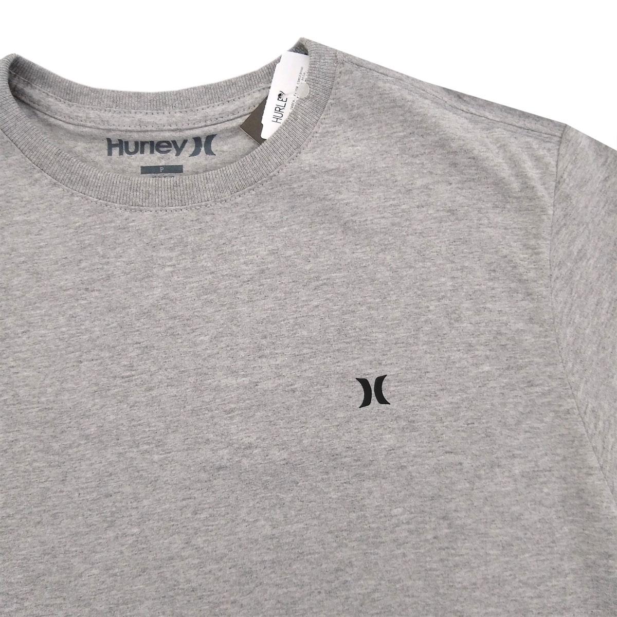 Camiseta Hurley Mini Icon Cinza