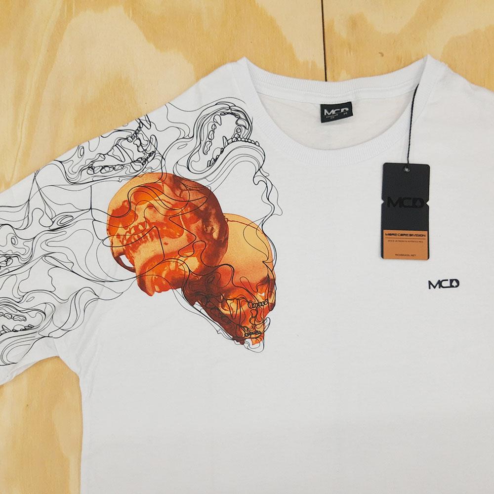 Camiseta MCD Double Head Branco