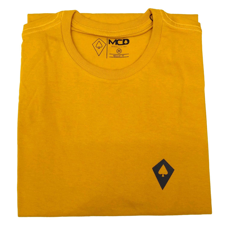 Camiseta MCD Regular Amarelo