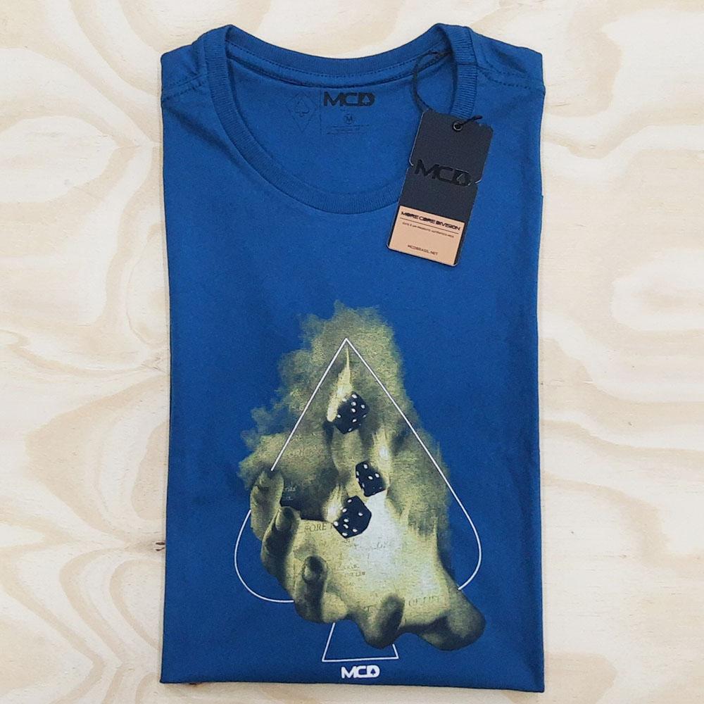 Camiseta MCD Regular Fire Azul