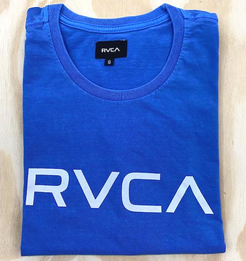 Camiseta RVCA Big Azul