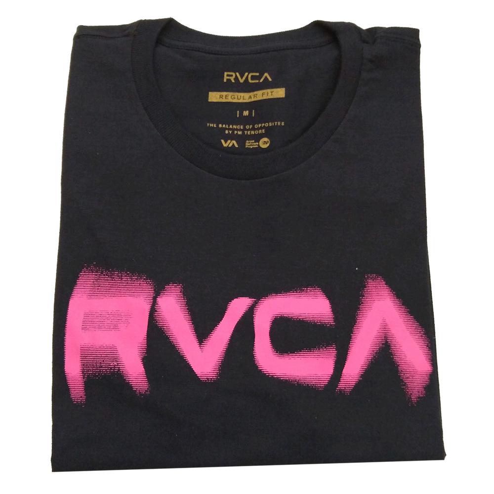 Camiseta RVCA Blurs Preta