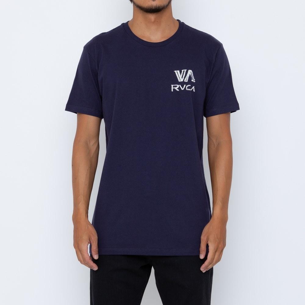 Camiseta RVCA Dry Brush Azul