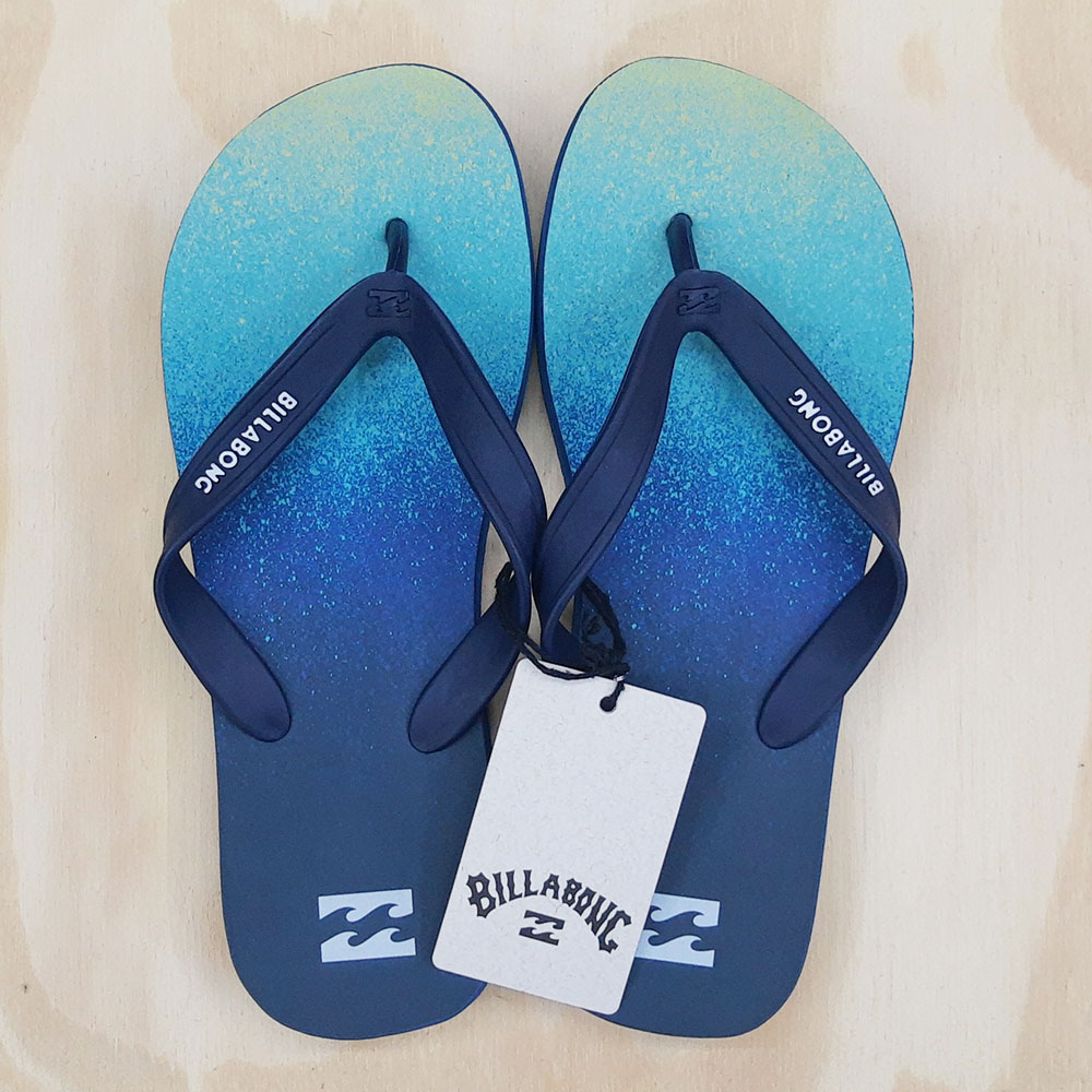 Chinelo Billabong Fade Azul