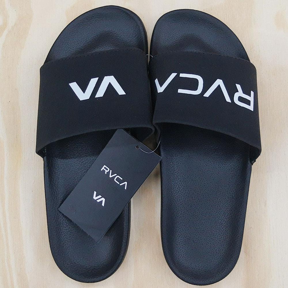 Chinelo Rvca Slide Black