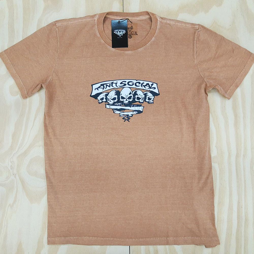 Camiseta Anti Social Originals Stoned Laranja