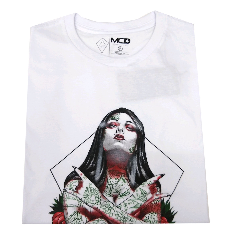 Camiseta MCD Tatto Girl Branca