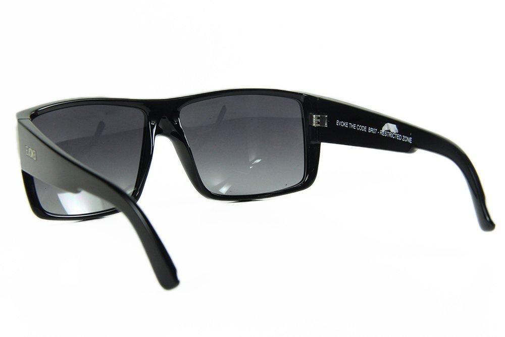 Evoke The Code BR07 Black Shine Silver Gray Gradient