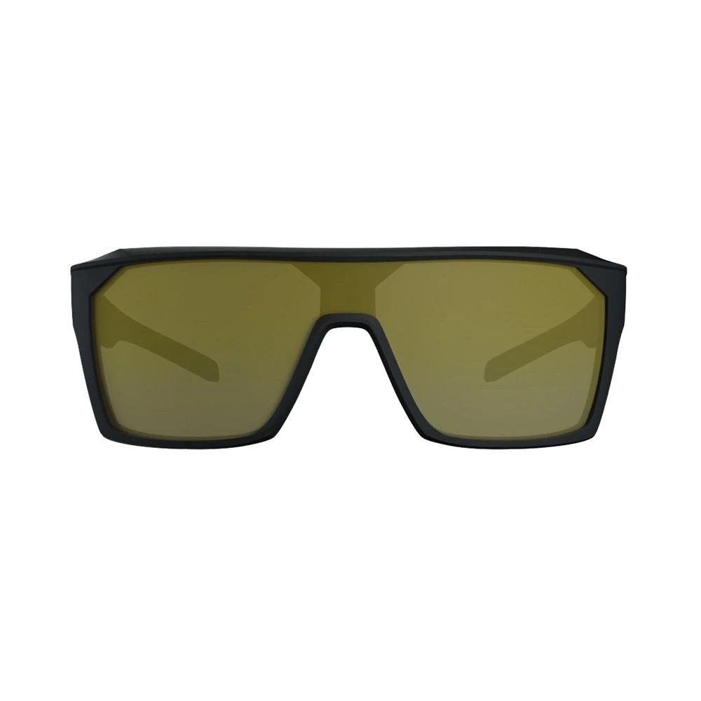 Óculos HB Carvin 2.0 Matte Black Gold Chrome Lenses