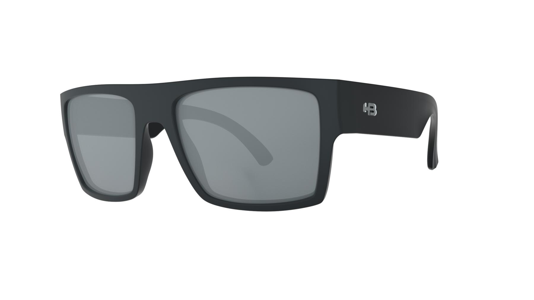 Óculos HB Loud Matte Black Gray