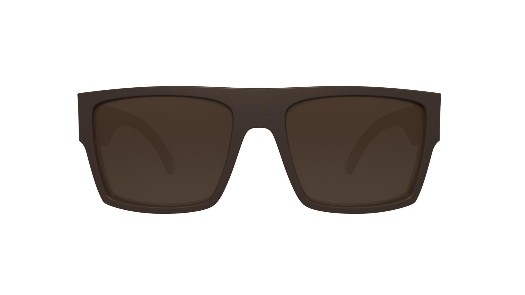 Óculos HB Loud Matte Brown Borwn