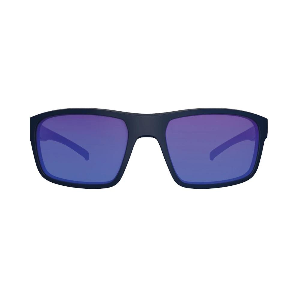 Óculos HB Overkill Matte Black D Blue Chrome
