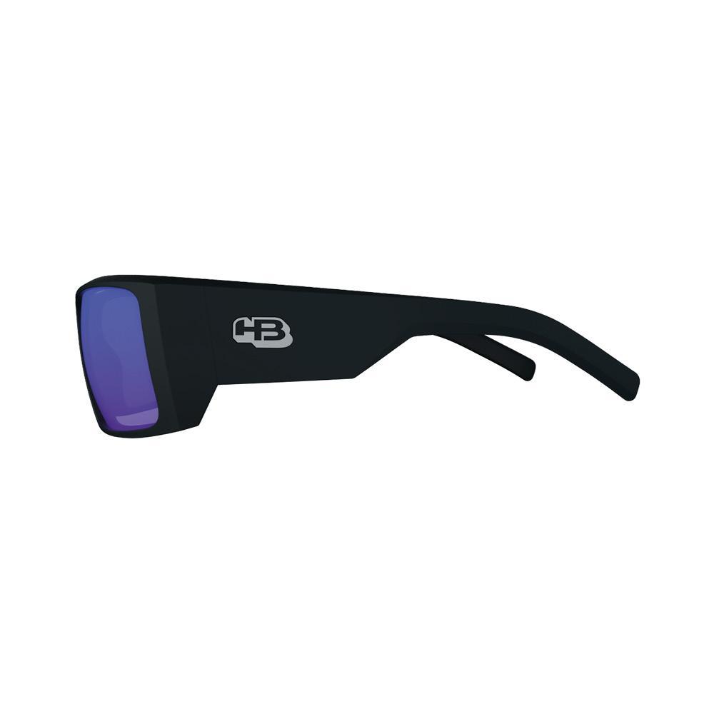 Óculos HB Rocker 2.0 Matte Black Blue Chrome