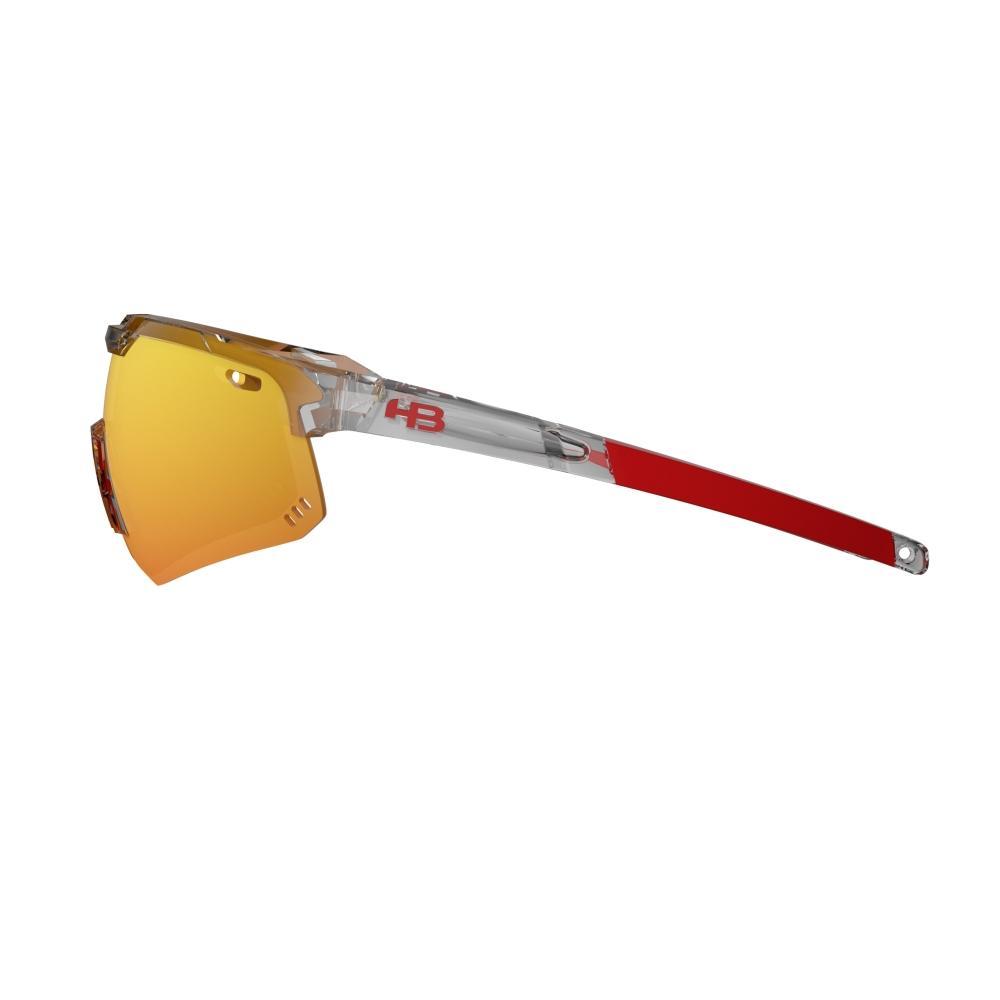 Óculos HB Shield Evo M Clear Multi Red
