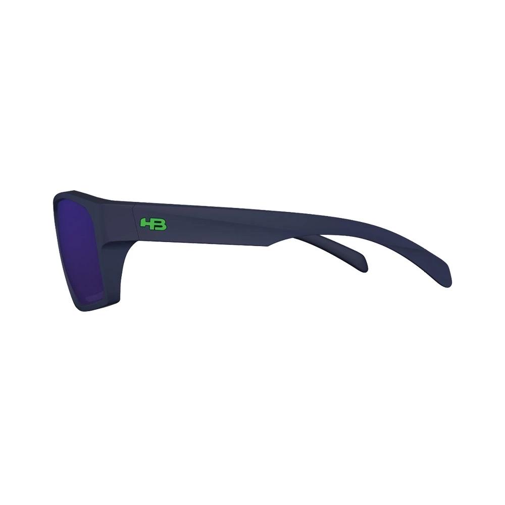Óculos HB Stab Matte Navy Blue Chrome Lenses