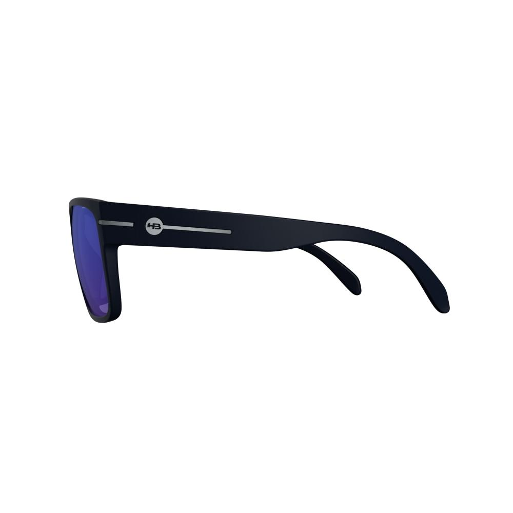 Óculos HB Would Matte Black D Blue Chrome Lenses