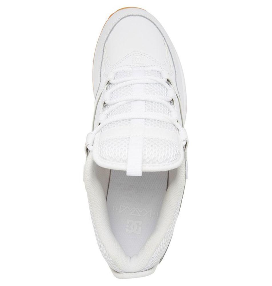 Tênis DC Kalis Lite White/Silver