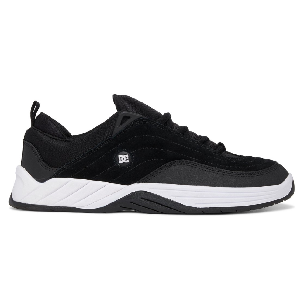 Tênis DC Willians Slim Black/White