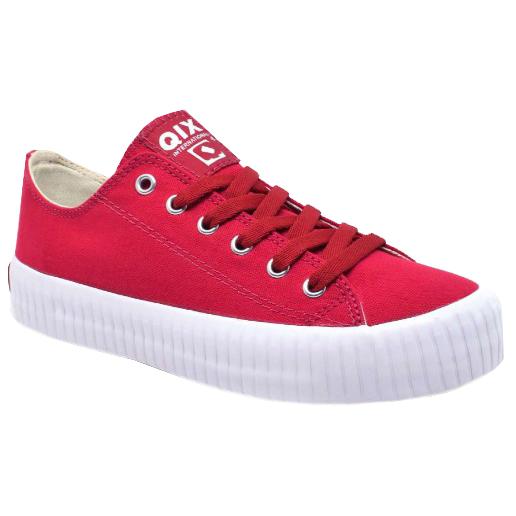 Tênis Qix Queens Vermelho/Branco