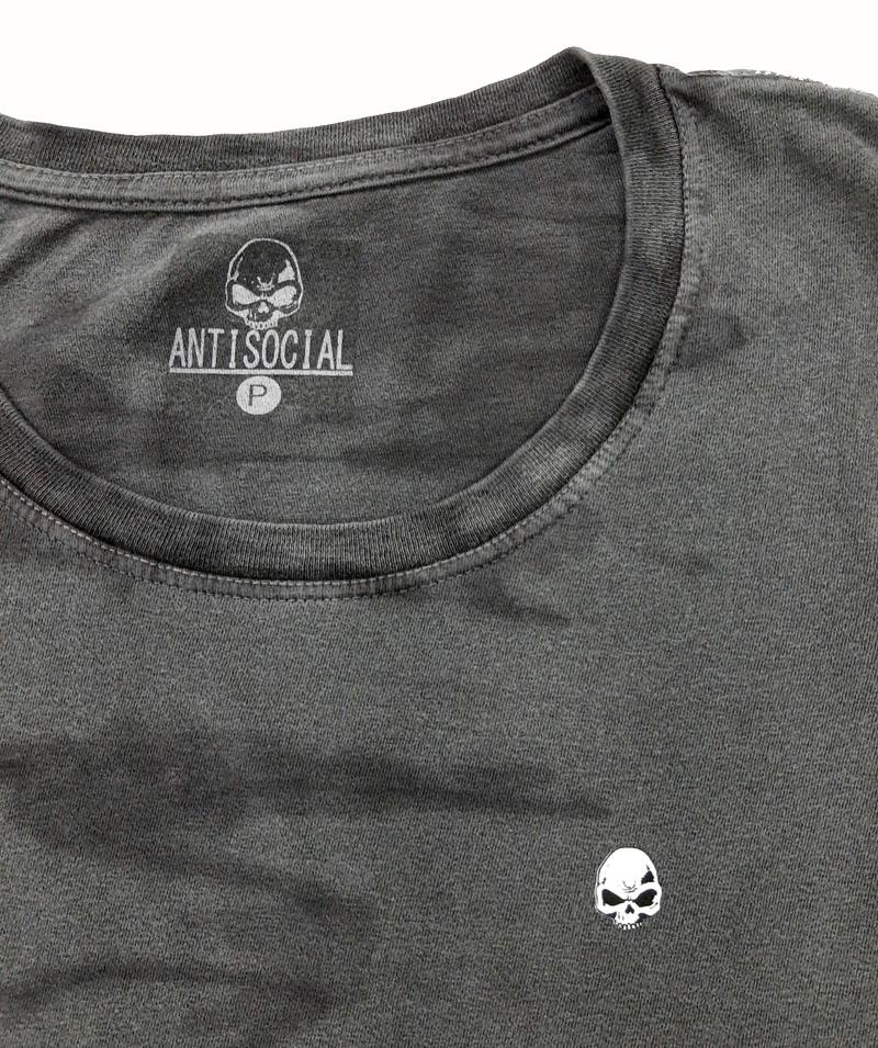 Vestido Anti Social Dark Skull Stone
