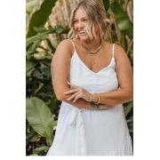 Vestido Valentina Branco