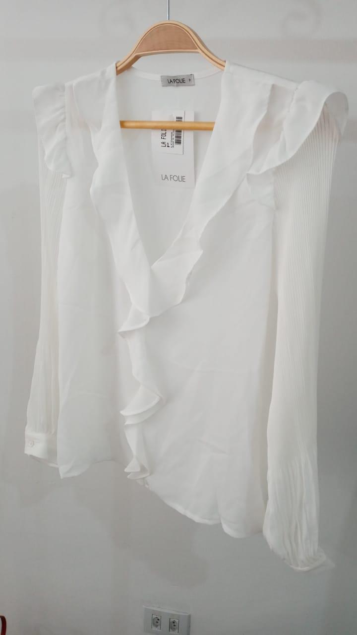 Camisa Mariane Plissado