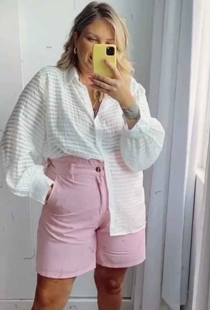Camisa Marlene Branca