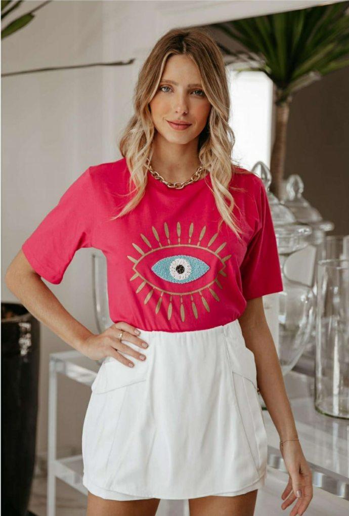 Camiseta Greece Pink