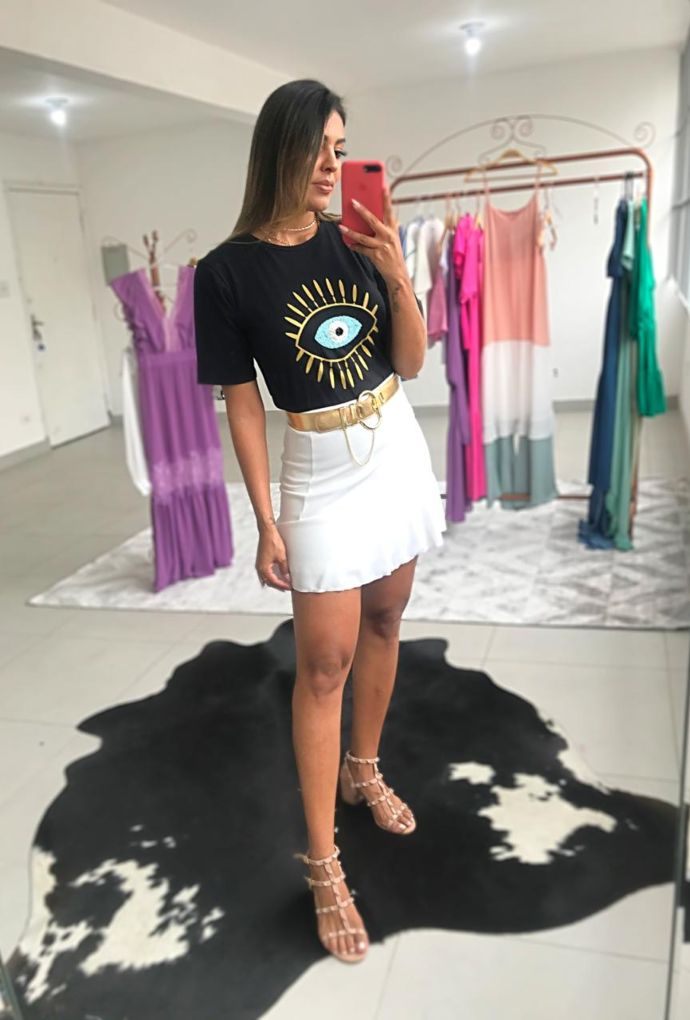Camiseta Greece Preta