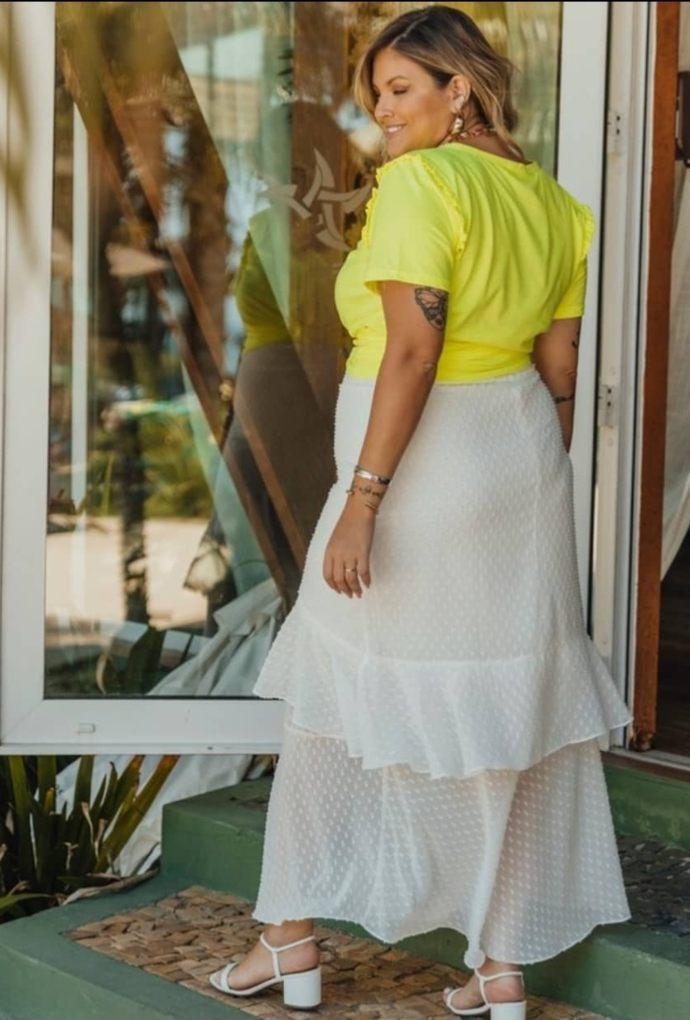 T-Shirt Liane Amarela