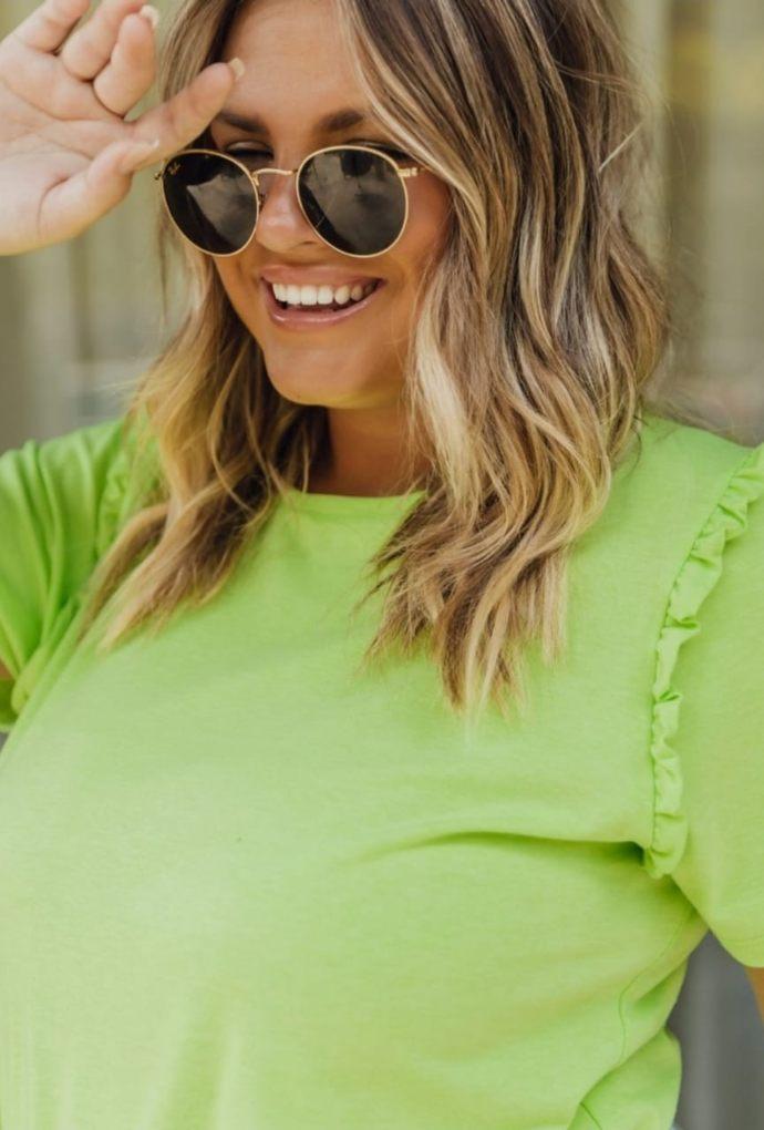T-Shirt Anne Verde