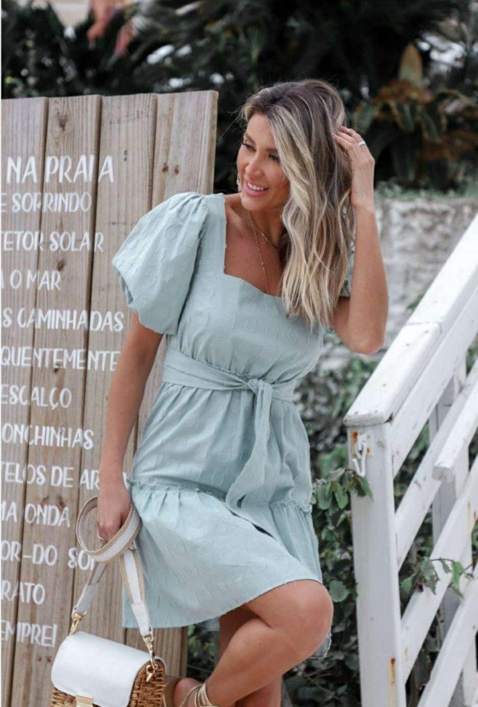 Vestido Cotton Verde