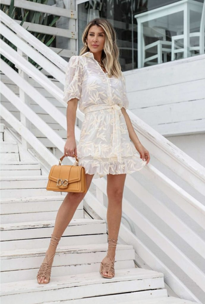 Vestido Garden Off White