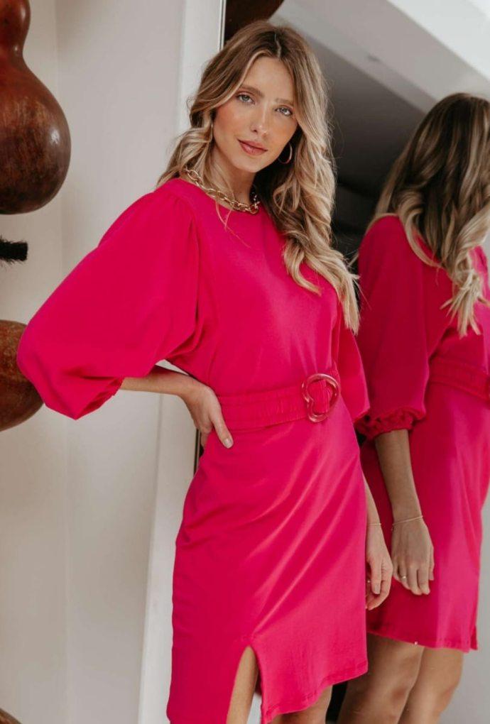 Vestido Heart Pink