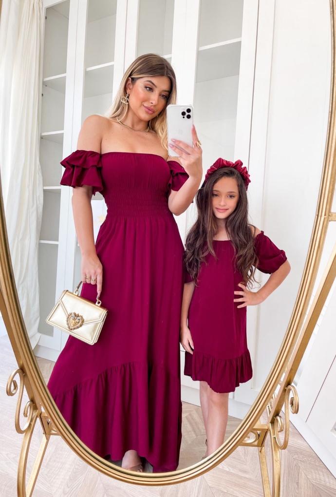 Vestido infantil Carolina
