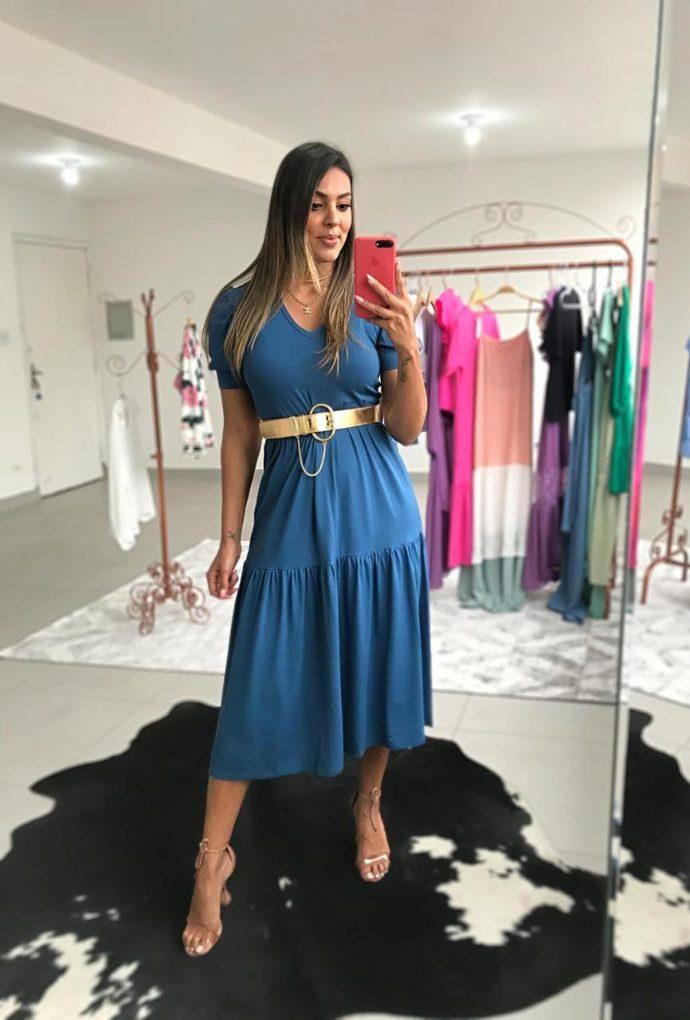 Vestido Midi Bulfante