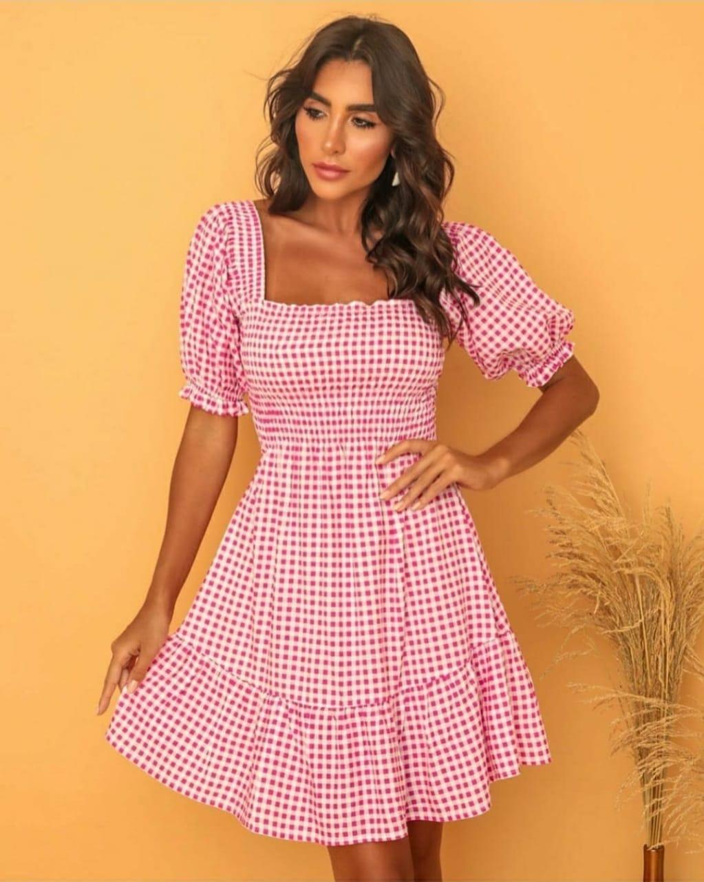 Vestido Rebeca Manga Bulfante