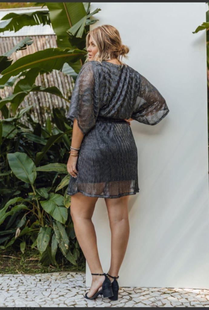 Vestido Vanessa Preto