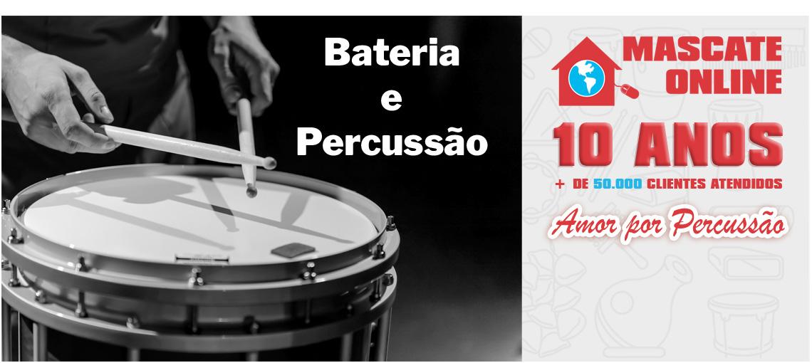 Bateria - Percussão - Instrumentos, acessórios e equipamentos em geral