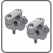 Adaptador Fixo Guidão 32 - 25mm Prata (par) Scam