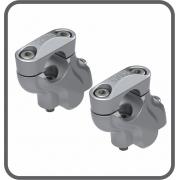 Adaptador Fixo Guidão 42 - 25mm Prata (par) Scam