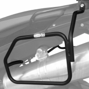 Afastador alforges BMW F800 GS tubular Scam