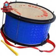 Bombo Infantil Azul Madeira 14