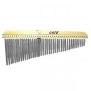 Carrilhão duplo 60 barras alumínio Gope 556 + capa
