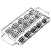 Chocalho c/ 60 pares de pratinelas Izzo 7540