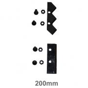 Faca p/ Broca Perfurador Solo 20cm Kawashima