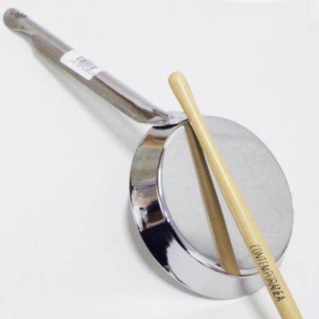 Frigideira musical simples inox Contemporânea FRIESP02